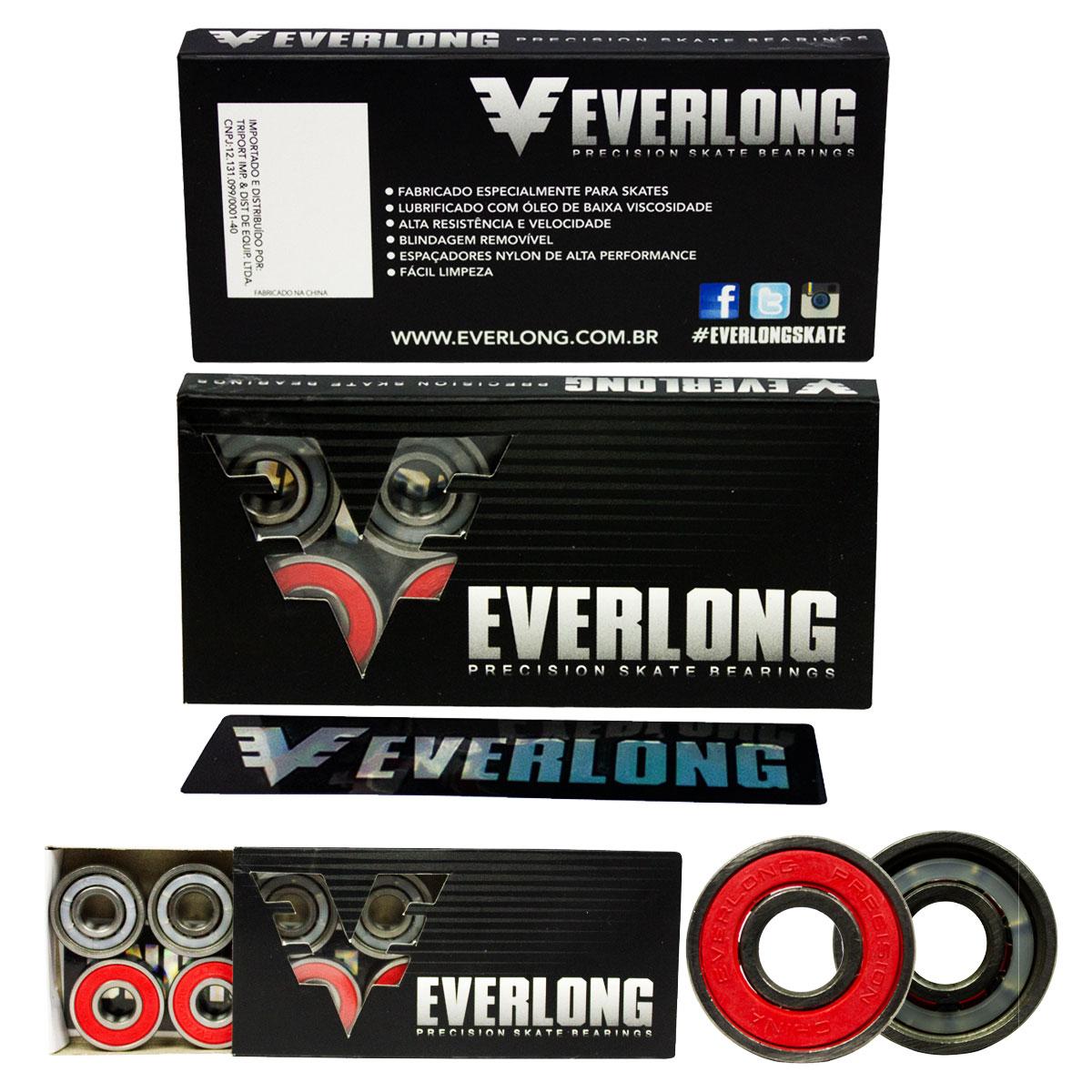 Roda Skate Brats Pro 101A 60mm e Rolamento Everlong