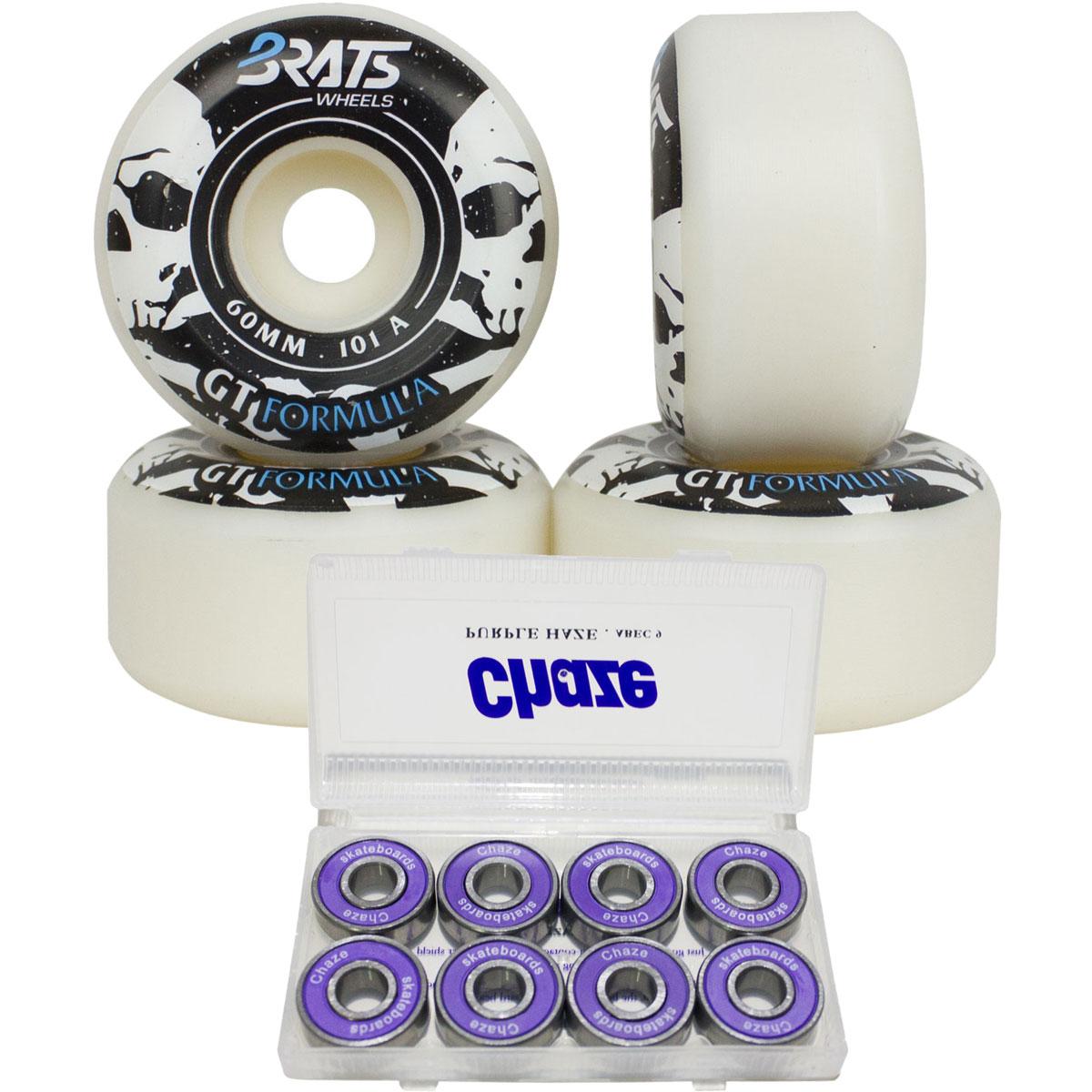 Roda Skate Brats Vertical Pro 101A 60mm e Rolamento Chaze