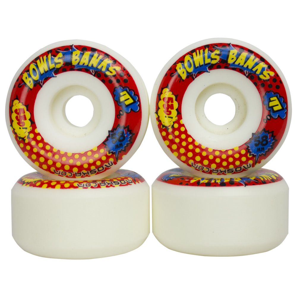 Roda Skate Moska Bolw Banks 58mm 53D 101A