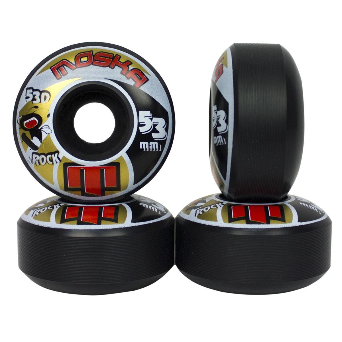 Roda Skate Moska Skate 53mm 53D 101A de Dureza