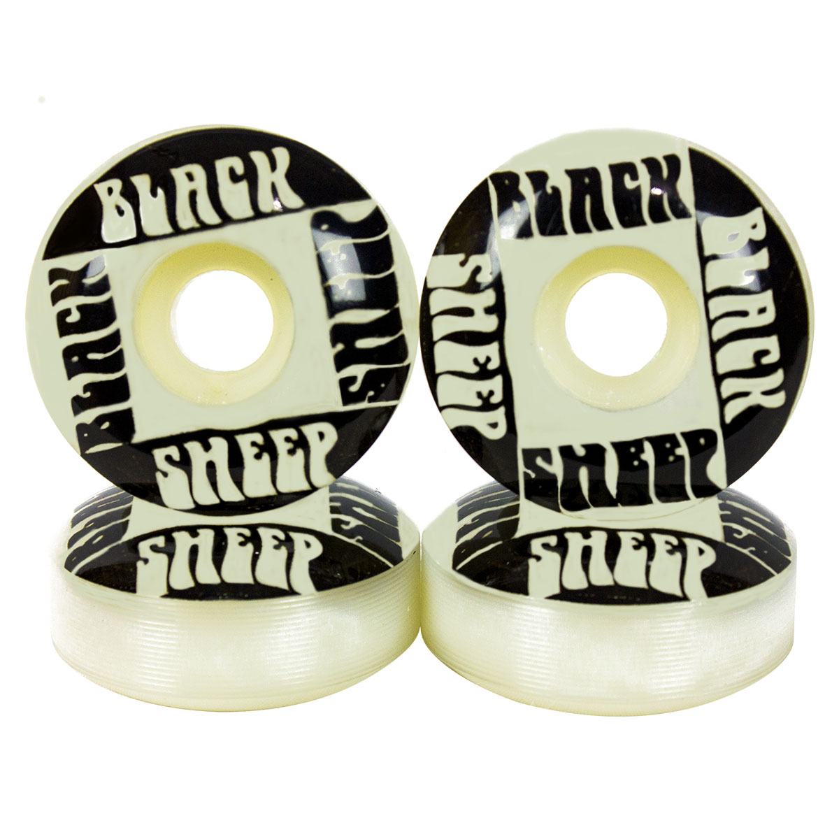 Rodinha Skate Black Sheep 53mm Rolamento BS Reds