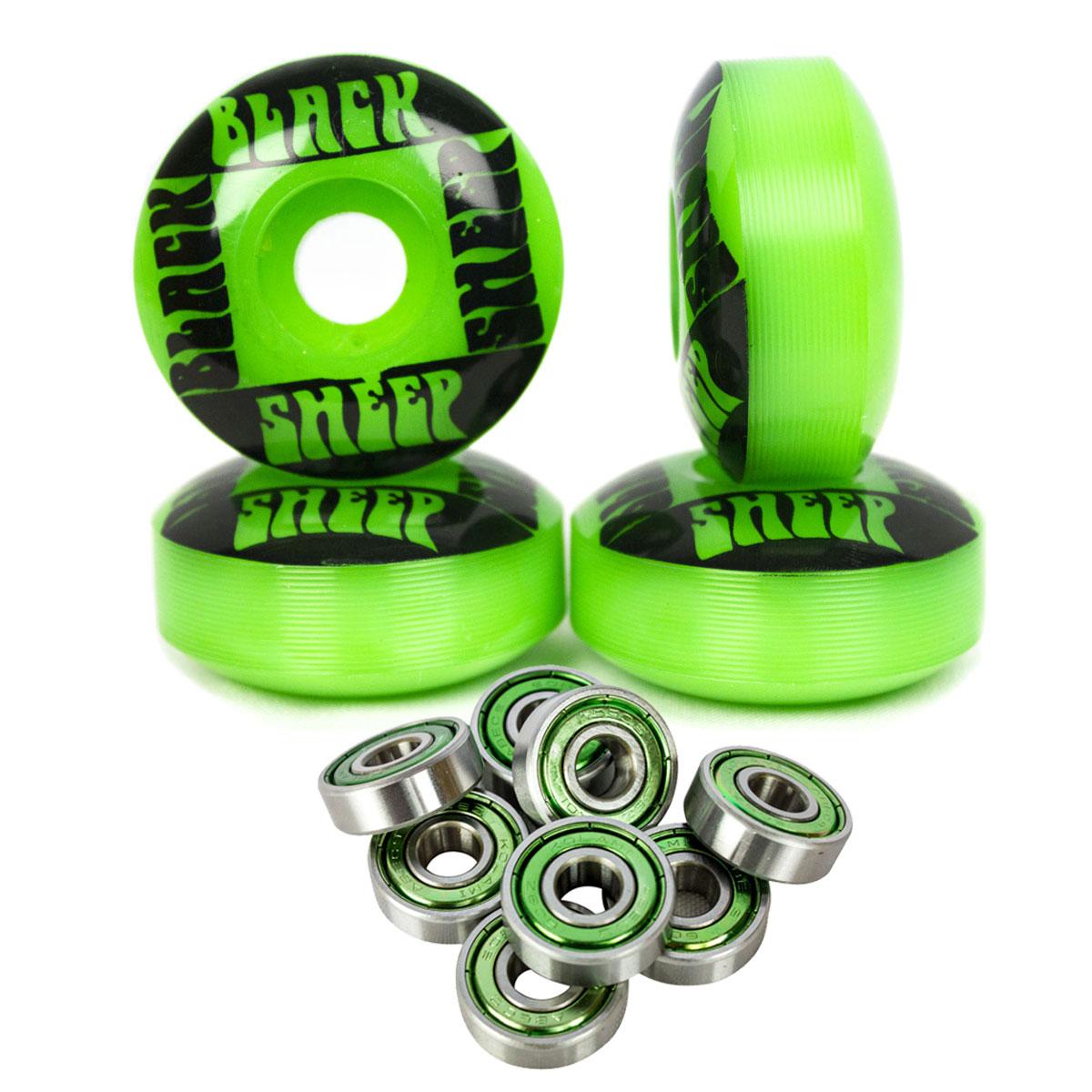 Rodinha Skate Black Sheep 97a 53mm e Rolamento Abec 9