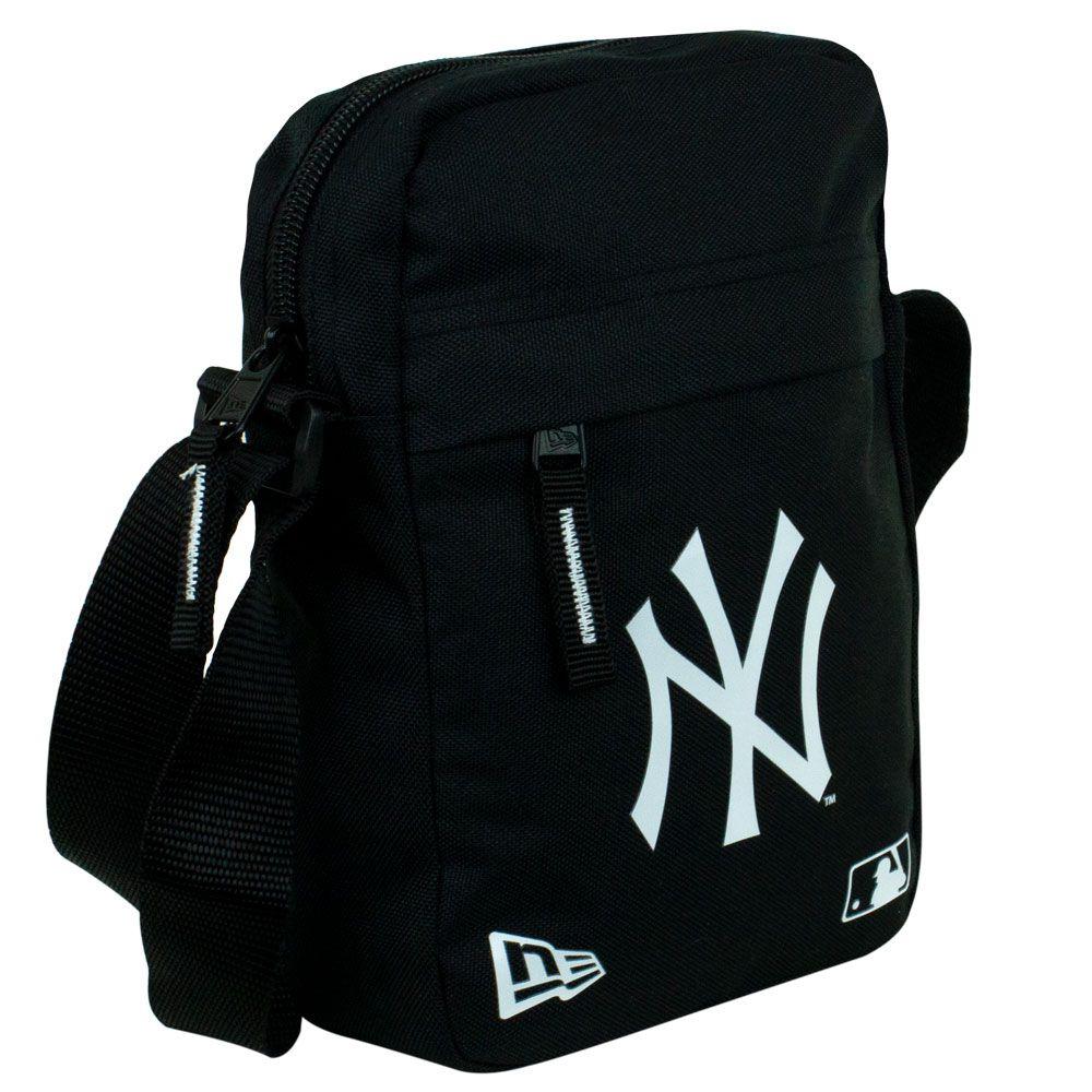 Shoulder Bag New Era Ny Preta Com Alça Transversal