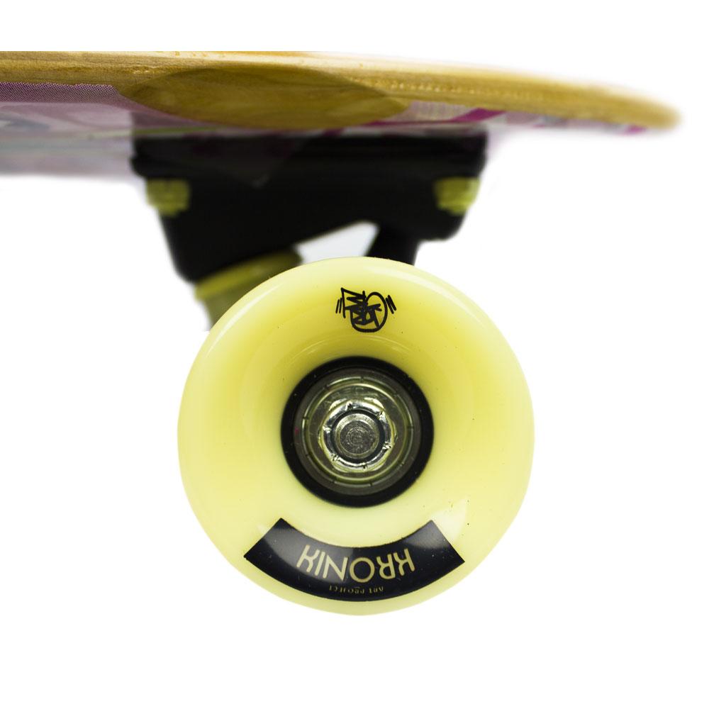 Skate Cruiser Mini Longboard Penny Rodas Super Macias Speed