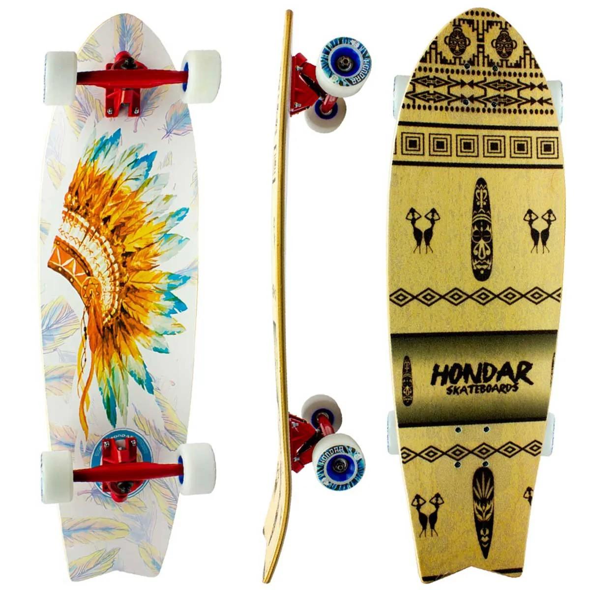 Skate Cruiser Semi Longboard Hondar
