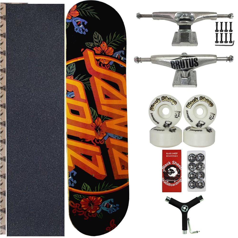 Skate Santa Cruz Completo Jessup Rolamento importado + chave