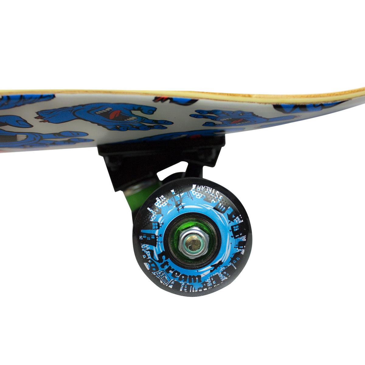 Skate Santa Cruz Completo Roda Black Sheep Rolamento Abec9
