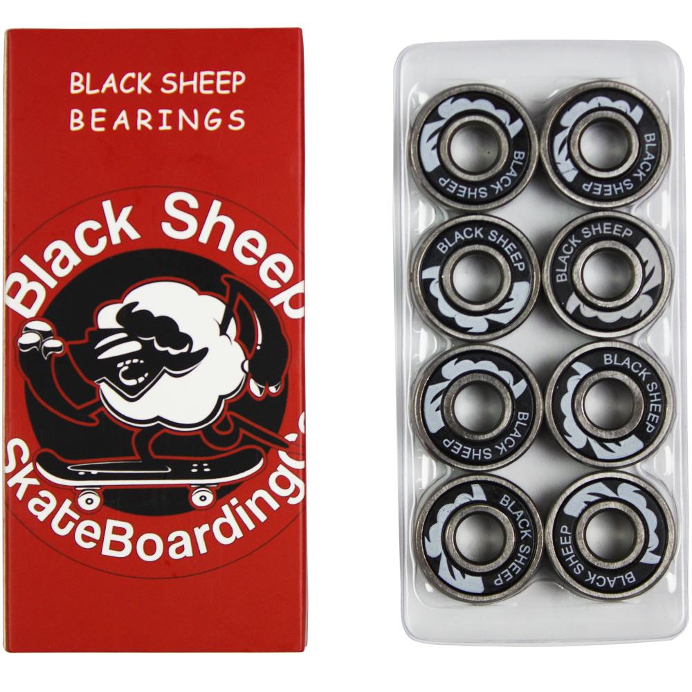 Skate Santa Cruz Completo Screaming Hand + Black Sheep Reds