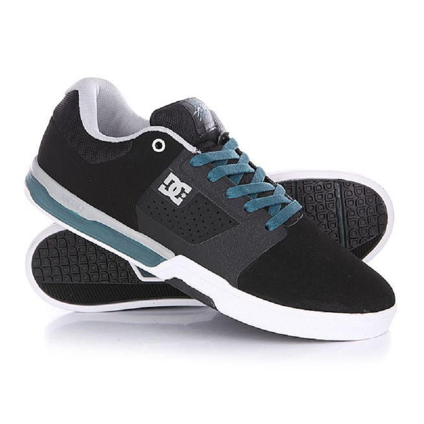 Tênis Dc Shoes Cris Cole Lite 2 Black Turquesa