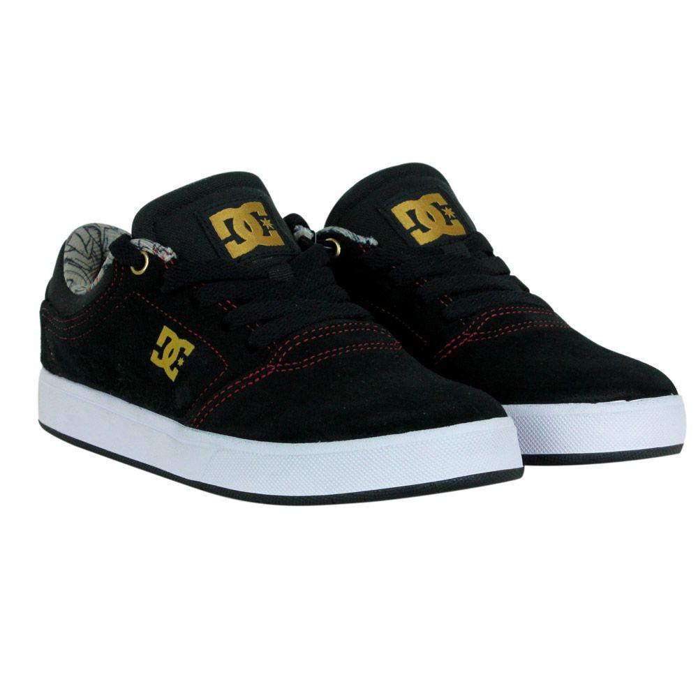Tênis Dc  Shoes Modelo Crisis La Preto