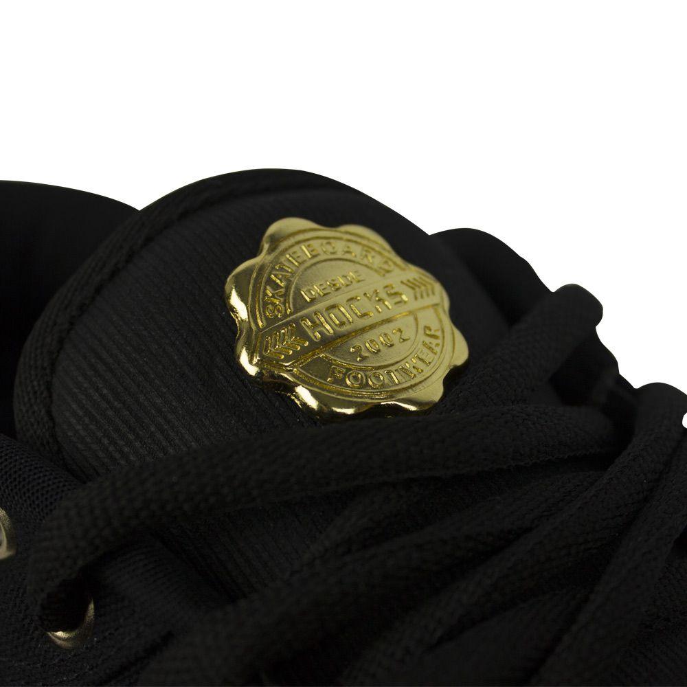 Tênis Hocks Montreal Black Gold