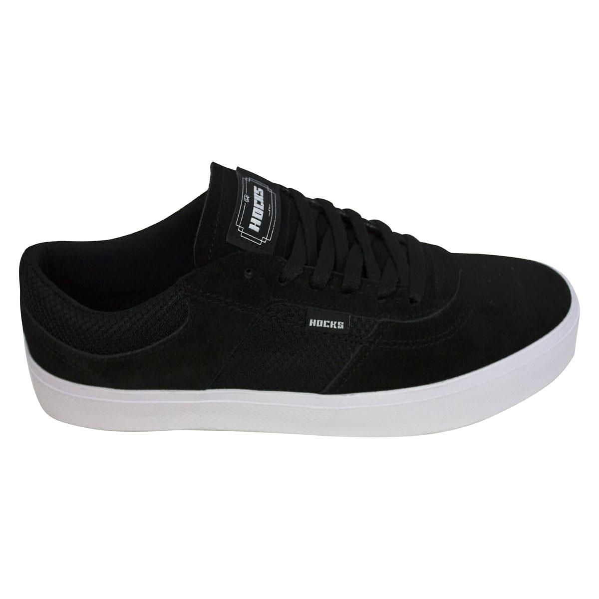 Tênis Hocks Skate Tempus Black White