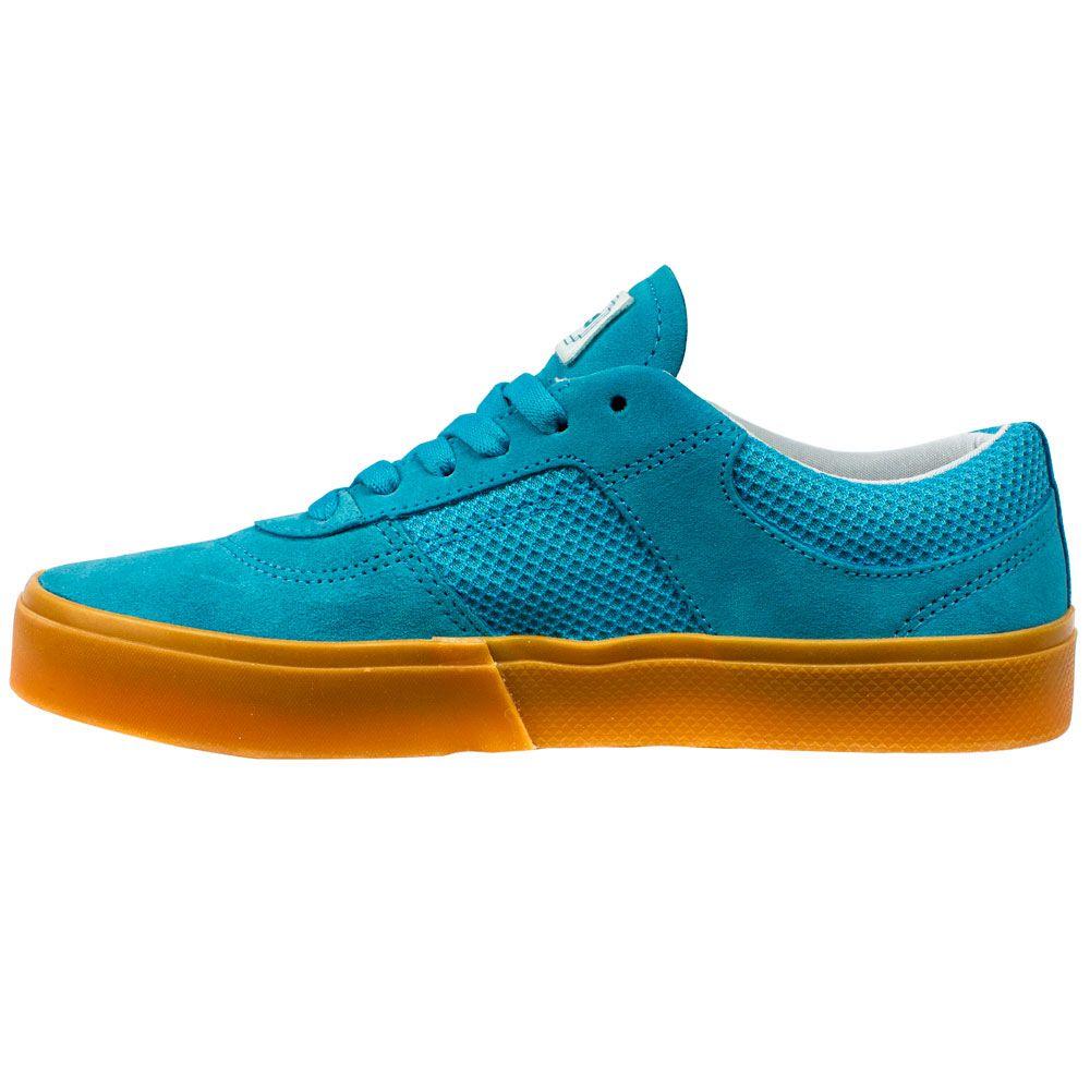 Tênis Hocks Tempus Couro Camurça Blue Gum