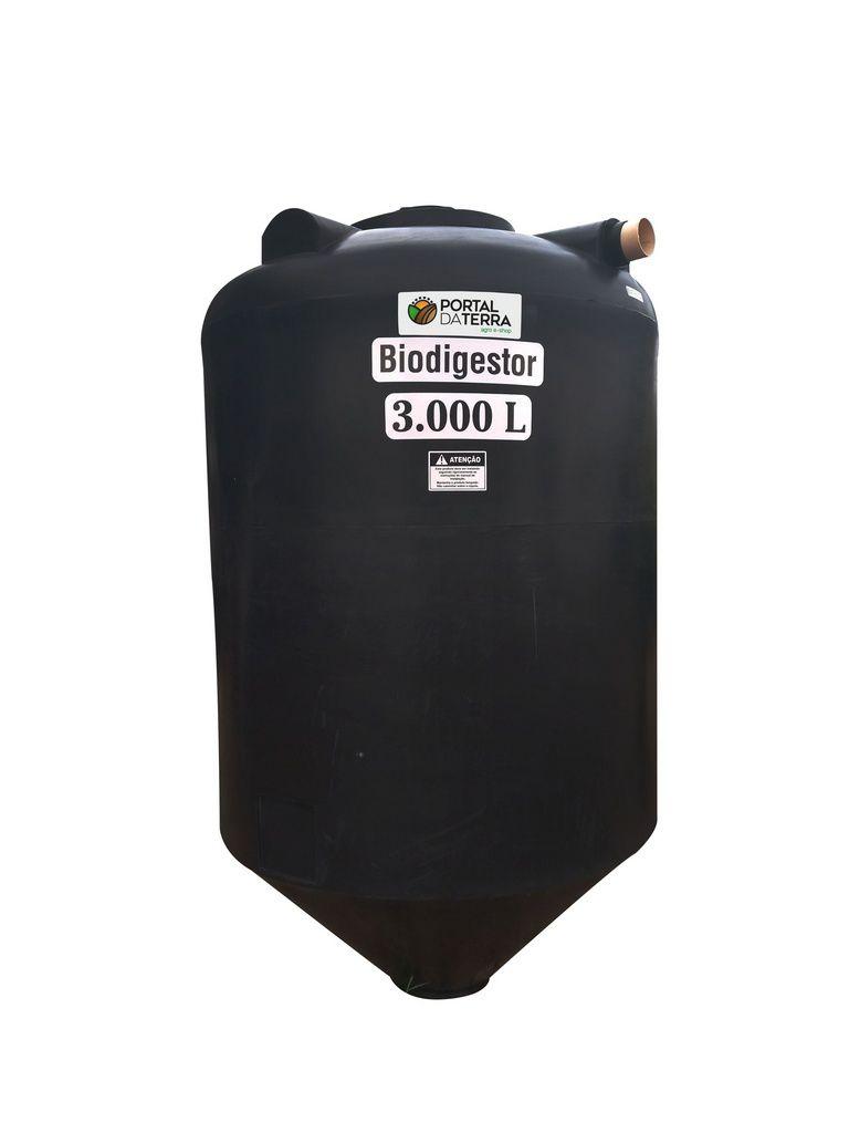 Fossa Biodigestor 3000 Litros Residêncial