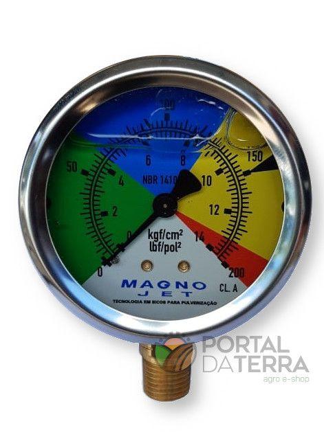 Manômetro 200 Psi (556092)