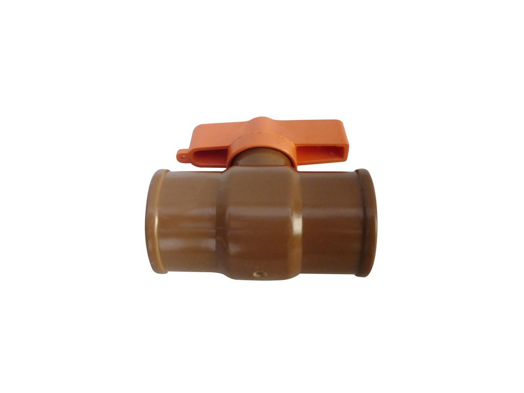 Registro Esfera 3/4 Compacto Rosqueável Plástico
