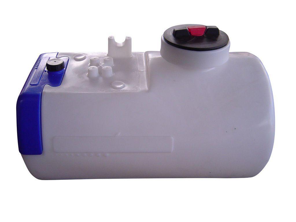 Tanque Agricola 200 Litros CHM com tampa e reservatório de água limpa