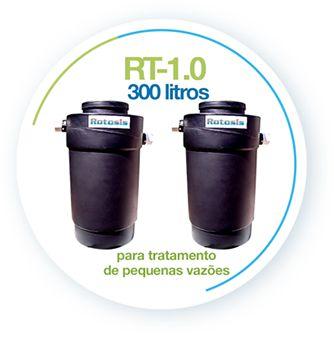 Tratamento de Esgoto 300 Litros - Fossa Séptica