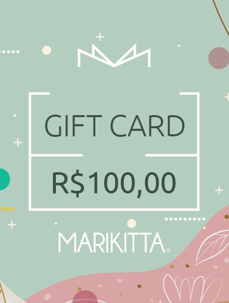Gift Card - R$ 100,00