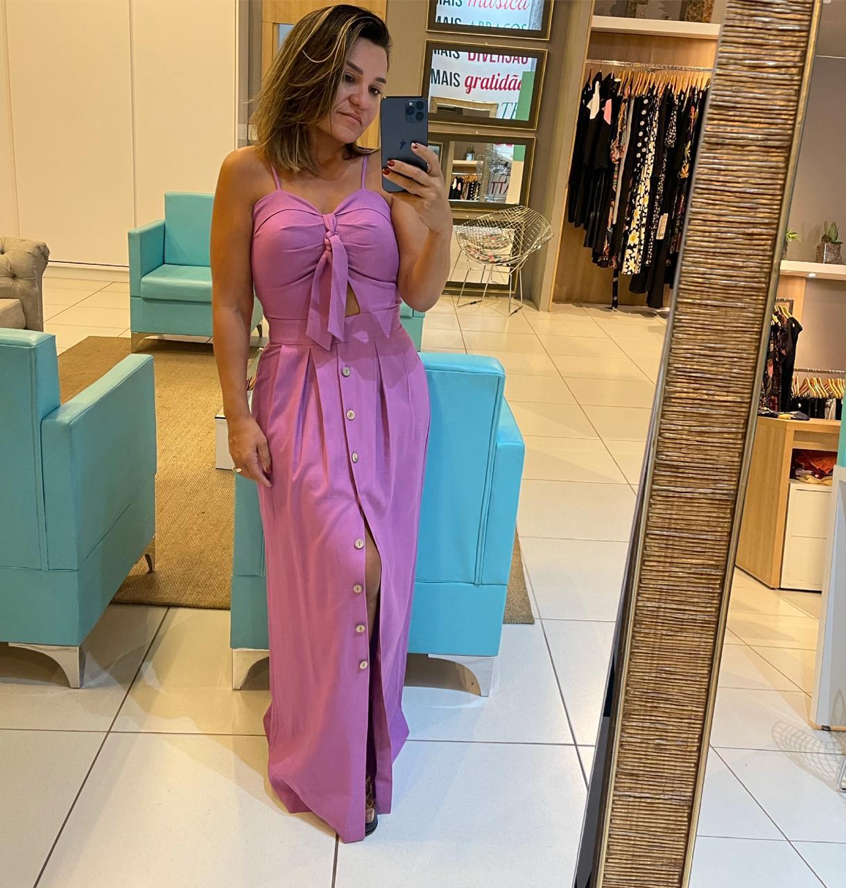 Vestido em Linho