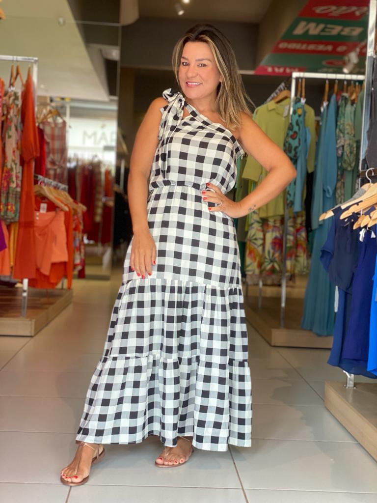 vestido Long Midi