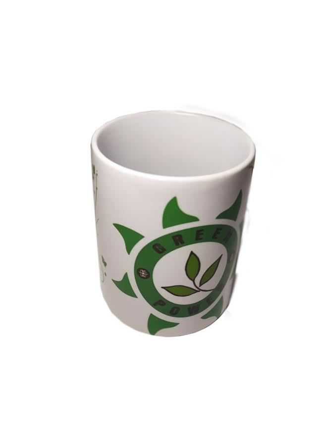 CANECA DE CERÂMICA GREEN POWER