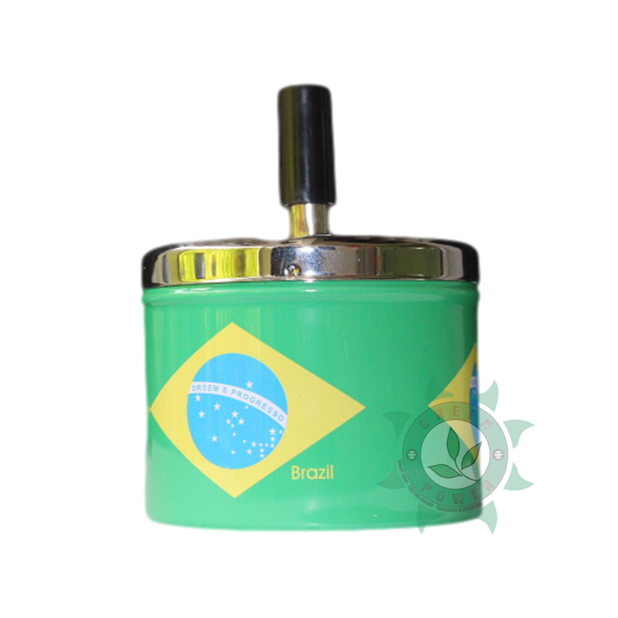 CINZEIRO DE METAL SPIN LATA BRASIL