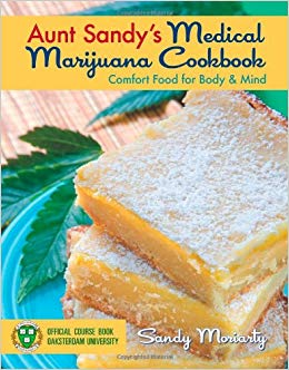 LIVRO AUNT SANDYS MEDICAL MARIJUANA COOKBOOK