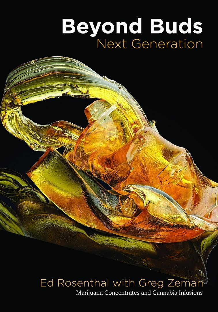 LIVRO BEYOND BUDS NEXT GENERATION, MARIJUANA CONCENTRATES AND CANNABIS INFUSIONS