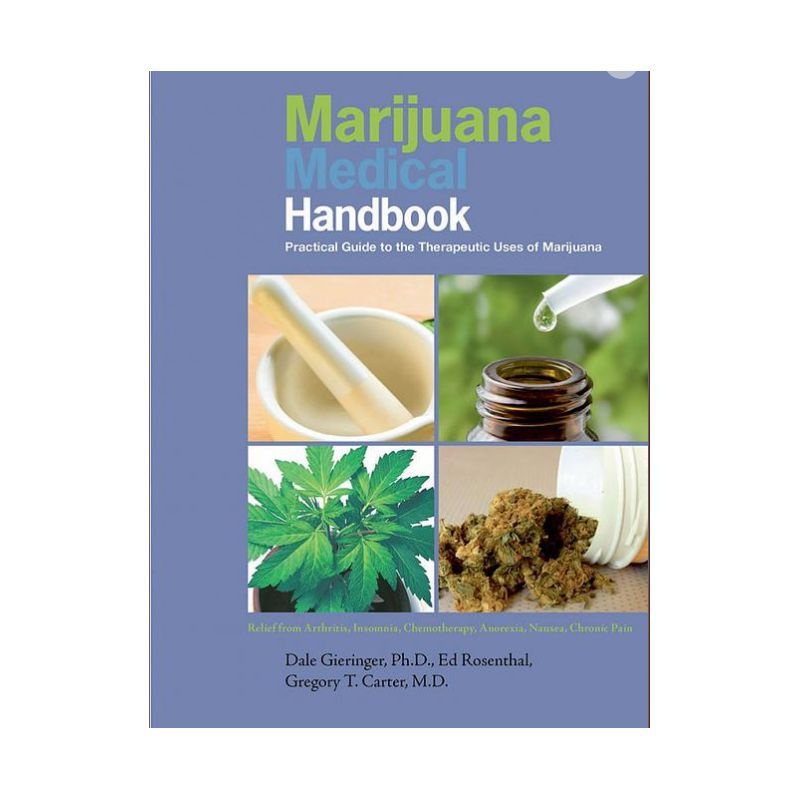 LIVRO MARIJUANA MEDICAL HANDBOOK