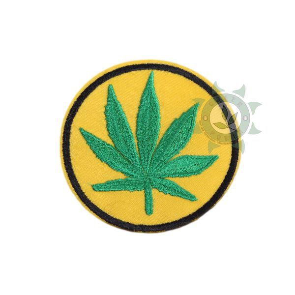 PATCH HEMP AMARELO E VERDE