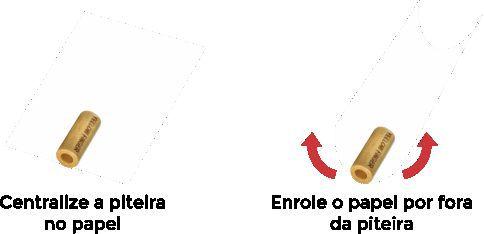 PITEIRA DE MADEIRA SMALL MARFIM