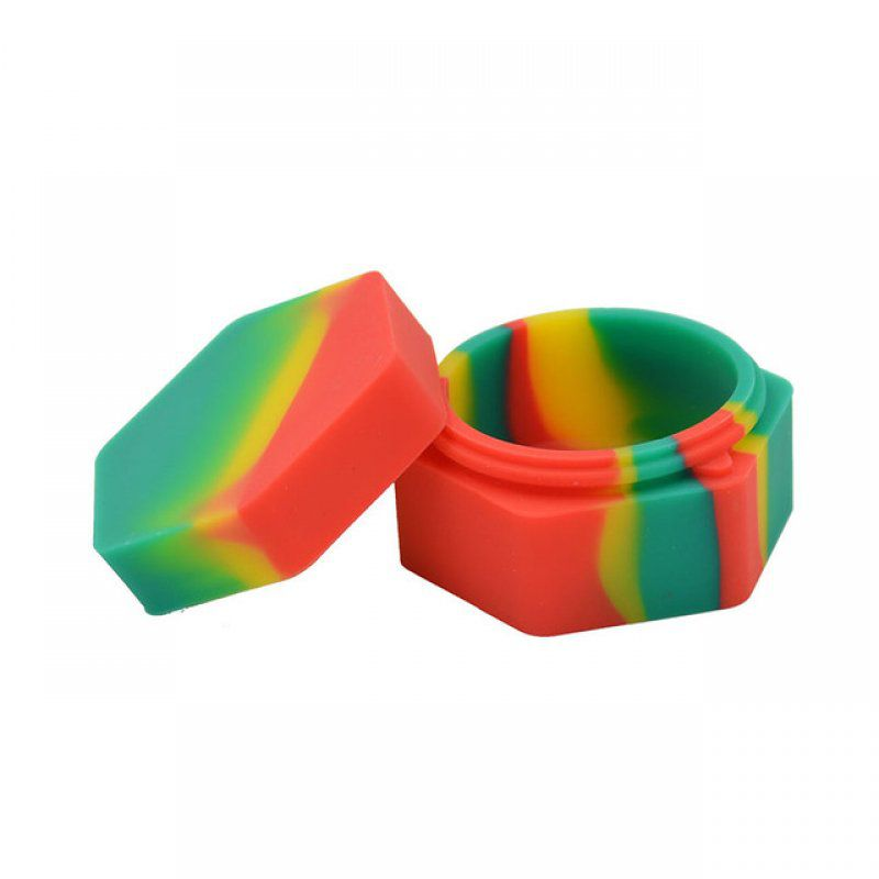 POTE DE SILICONE SILICON HEXAGONAL 26ML