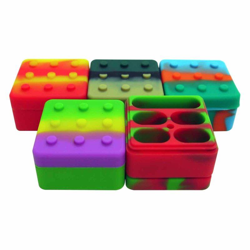 POTE DE SILICONE SILICON LEGO 4+1 26ML