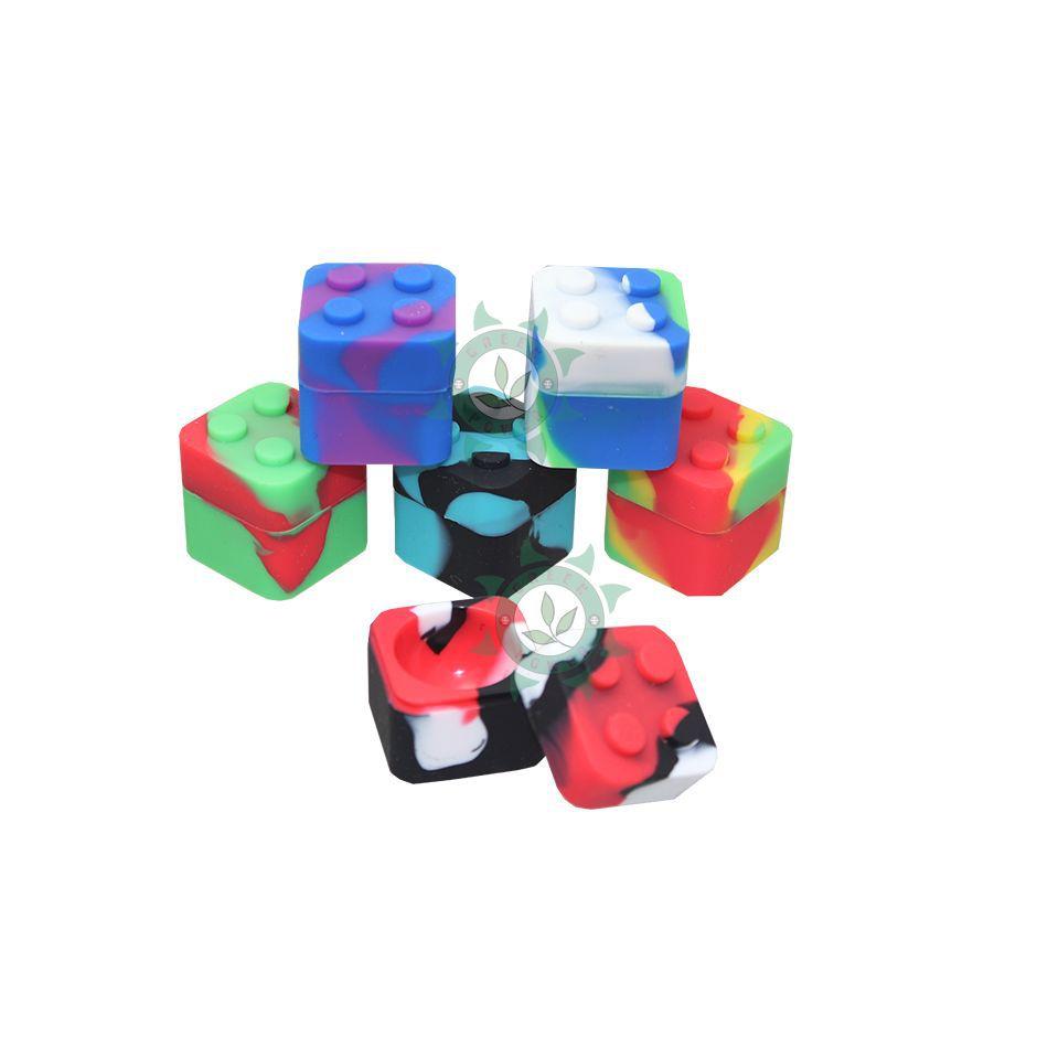 POTE DE SILICONE SILICON LEGO 9ML