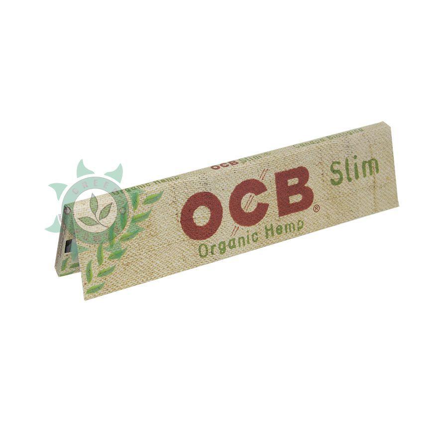 SEDA OCB ORGANICA SLIM 109X44MM 32FOLHAS