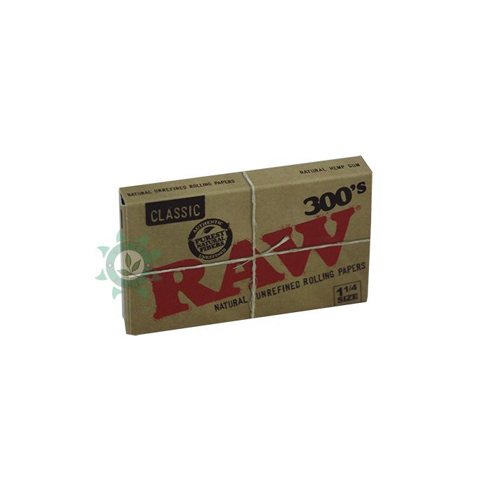 SEDA RAW CLASSIC PACK COM 300 DE 79X44MM