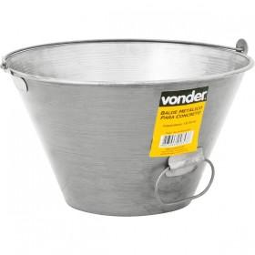 Balde Metálico Para Concreto 10 litros - Vonder