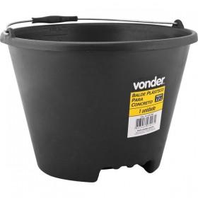 Balde Plástico para Concreto 12 litros - Vonder
