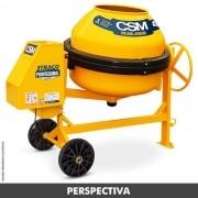 Betoneira 1 Traço Super 400L Monofásica - CSM