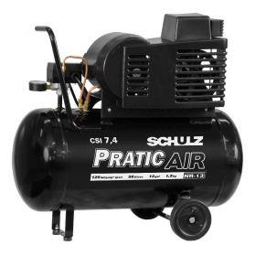 Compressor de Ar CSI 7,4/50L 1,5CV Com Rodas 110V/220V - Schulz