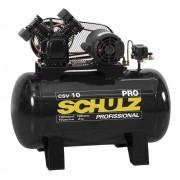 Compressor de Ar CSV 10/100 Litros Monofásico 2CV Pro - Schulz