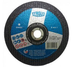 "Disco de Corte 7"" x 1,6mm x 7/8"" Basic - Tyrolit"