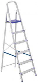 Escada Residencial em Alumínio 6 Degraus Prima - SBA
