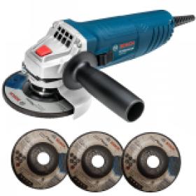 Esmerilhadeira Angular 850W 115mm Professional GWS 850 + Discos - Bosch