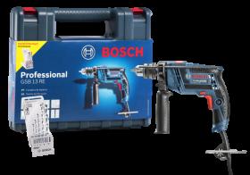 Furadeira De Impacto GSB 13RE 650W Com Maleta e 5 Brocas - Bosch