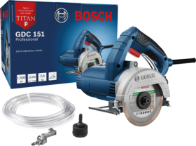 Serra Mármore Titan 125mm 1500W GDC 151 - Bosch