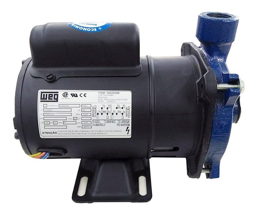 Bomba Centrífuga Monofásica 0 50CV SHX 110/220V - Somar