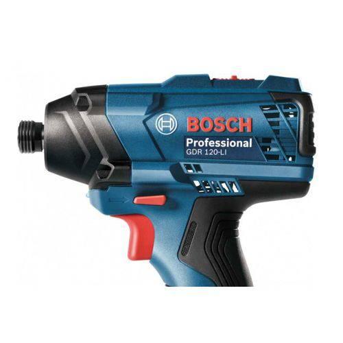 Combo Chave Parafusadeira de Impacto GDR 120-LI + Furadeira/Parafusadeira GSR 120-LI + Maleta de Aluminio - Bosch