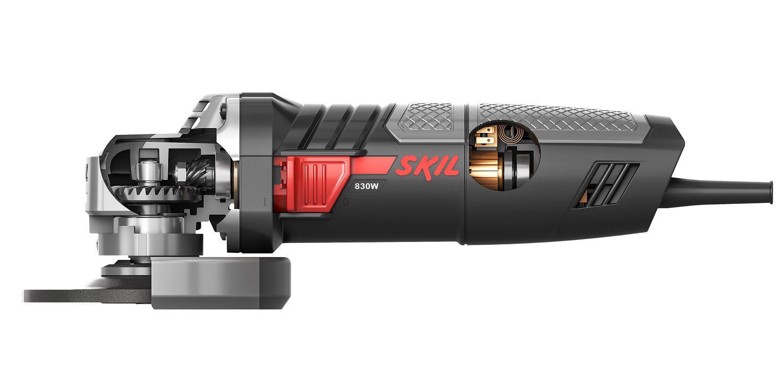 "Esmerilhadeira  Angular 4 1/2"" 115 mm 9004 830W - Skil"